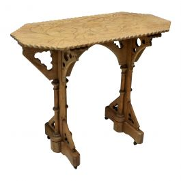 Gothic Revival Side Table
