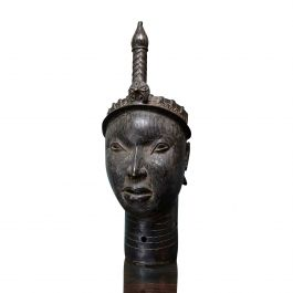 20th Century Life Sized Benin Bust