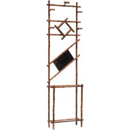 Art Deco Bamboo Hall Stand Coat Rack c1930s