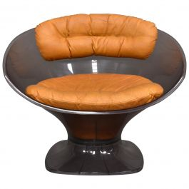 Raphael Raffel Club Chair, France, circa 1970