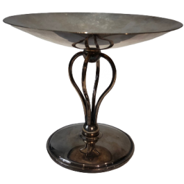 Silver Plated Fruits Bowl. French. Circa 1930