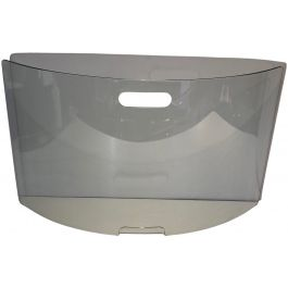 Large Curved Glass Design Fire Place Screen.