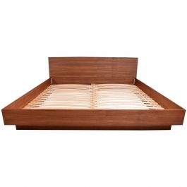 Teak King Platform Bed Danish Modern