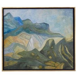 Mountain View at the Provence Painting