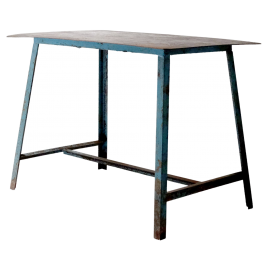 Industrial French Table
