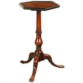 Early 18th Century English Tripod Table, a Marriage