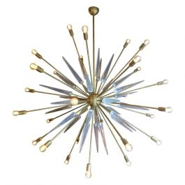 Contemporary Italian Sputnik Chandelier