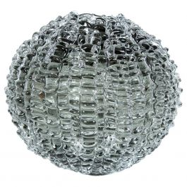 Echinus in Grey' Glass Sculpture Centrepiece by Katherine Huskie