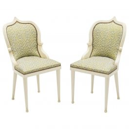 Extremely Rare Set of 15 Garouste & Bonetti 'Palace' Dining Chairs, 1980