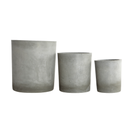 Set Of 3 Planters From House Doctor Dk
