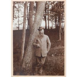 UnknownVintage Photograph of a Country Gentleman Sepia toned German Manc1920-30