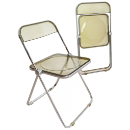 Vintage Plia Chairs by Piretti for Castelli