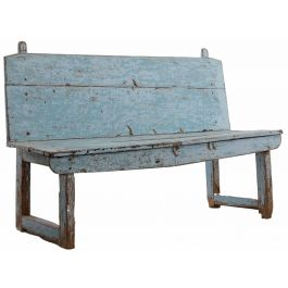 Blue Catalan Bench
