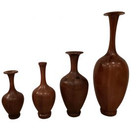 Vintage Vases by De Coene, Set of 4