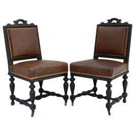 Pair of 19th Century French Side Chairs to Recover