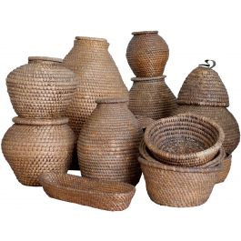 19th Century Wicker Baskets
