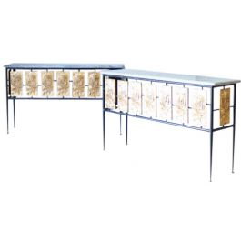 A Chic Pair of 1960s console Tables