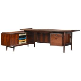 Sibast Rosewood Desk and Sideboard