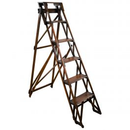 Late 19th Century Hatherley Pine Step Ladders