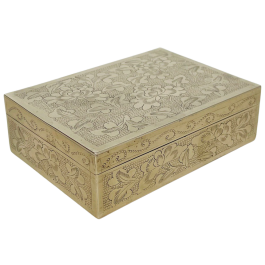 Chinese brass box