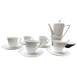 Vintage Midcentury Coffee Set by Hans Achtziger for Hutschenreuther Selb