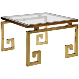 Brass Occasional Table in the Manner of Maison Jansen