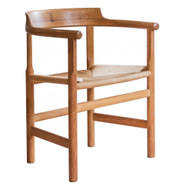 A 'PP62' CHAIR BY HANS WEGNER (1914 - 2007)
