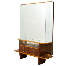 Italian Walnut Dressing Table