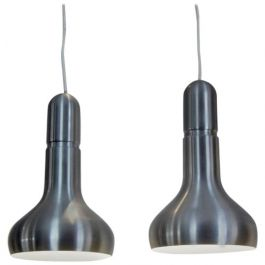 Danish Aluminum Lights, 1960s, Set of 2