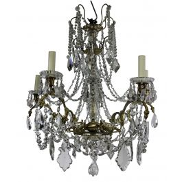 19th Century Baccarat Chandelier