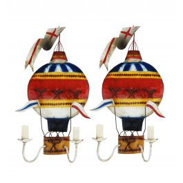 Pair Of French Montgolfière Wall Lights C1950