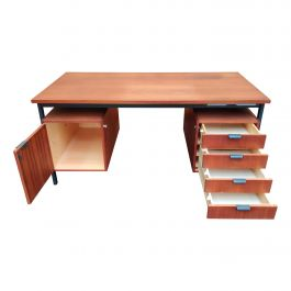 Midcentury Desk by Herbert Hircher, 1950s