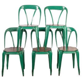 Set of Stackable Chairs