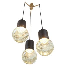 1950s Pendant Light By Gino Sarfatti