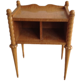 Light Wood Side Table. French. Circa 1940