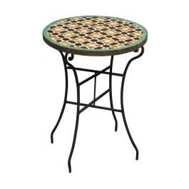 Moroccan Mosaic Occasional Table