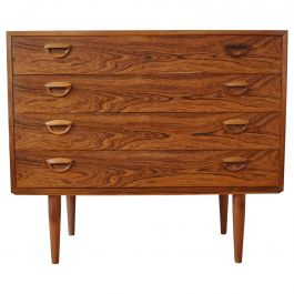Kai Kristiansen Rosewood Chest of Drawers, 1960s
