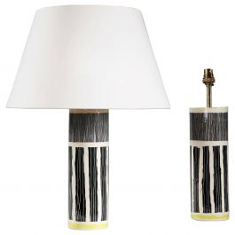 Pair of Studio Pottery Vases as Lamps