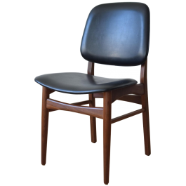 Mid-Century Danish Teak Shell Chairs, Set of 4