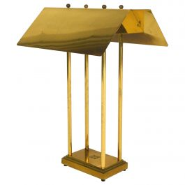Rare Limited Edition Peter Ghyczy 'MW' Brass Table Lamp