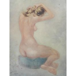 Nude Lady by Cassinari Vettor Lithography