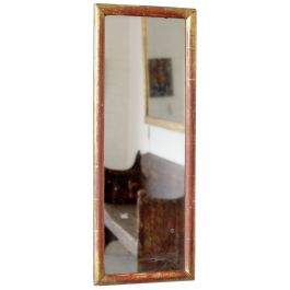 Narrow Antique Mirror