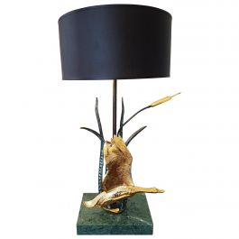 Vintage Table Lamp by L. Galeotti, 1970s