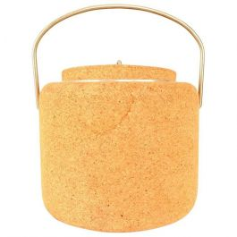 1970s Cork Ice Bucket By Signe Persson Melin