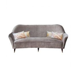 Large Italian Curved Sofa