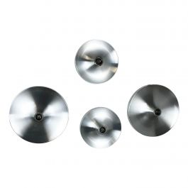 Set of Four 1970s Charlotte Perriand Disc Wall Light by TEKA Lights., Germany