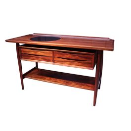 Danish Mid century modern console table by Arne Vodder