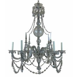 A Large Fine Georgian Chandelier