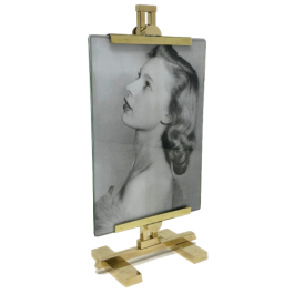 Brass photograph frame