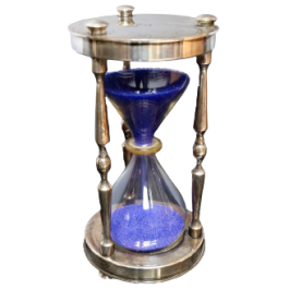 1970'S CHRISTOFLE ET CIE HOURGLASS